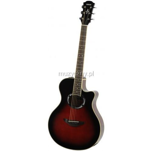 Yamaha apx 500 iii dsr gitara elektroakustyczna, dusk sun red