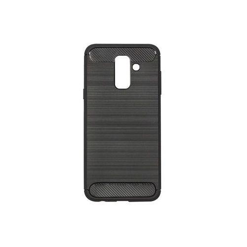 Samsung Galaxy A6 Plus (2018) - etui na telefon Forcell Carbon - czarny