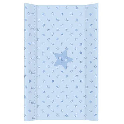 przewijak na łóżeczko usztywniony 50x70 gwiazdki niebieskie marki Mamo-tato