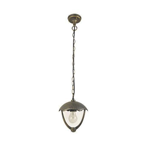 Lampa wisząca zewnętrzna ogrodowa Rabalux Miami 1x40W E27 IP44 antyczne złoto 8673 (5998250386737)