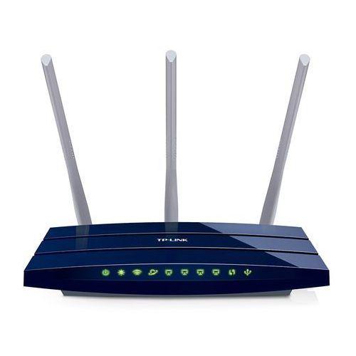 TP-LINK WR1043ND router xDSL WiFi N300 (2.4GHz) 1x1GB WAN 4x1GB LAN 1xUSB (PS/HDD) 3x5dBi (SMA), 204637