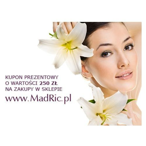 MadRic KUPON PREZENTOWY na zakupy w sklepie MadRic.pl za kwotę 250 zł.