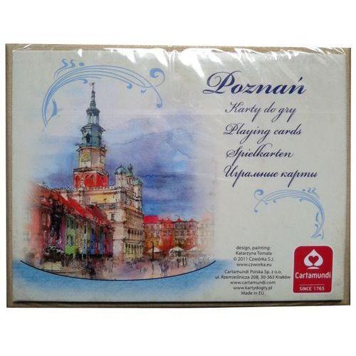 Karty do gry CARTAMUNDI Akwarele Poznań 2 x 55 listków (5901911001733)