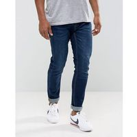 Pull&Bear Super Skinny Jeans In Dark Blue - Blue, kolor niebieski