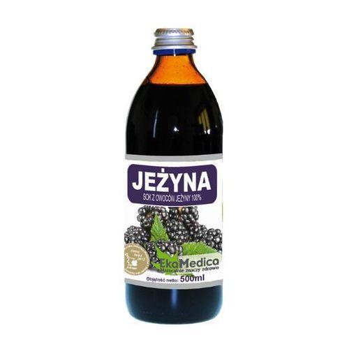 Eka Medica Jeżyna 100% sok z owoców jeżyny 500ml, EKA MEDICA