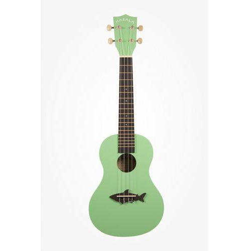 makala mk-c shark ukulele koncertowe kolor zielony marki Kala