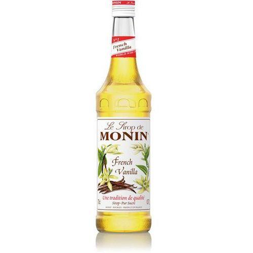 Syrop smakowy Monin French Vanilla, francuska wanilia 0,7l z kategorii Napoje, wody, soki