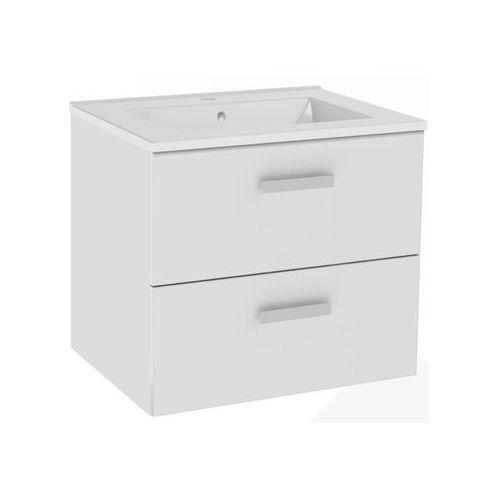 Mirano Zestaw Cortina 50 cm szafka z umywalką biała, Mirano_3237682