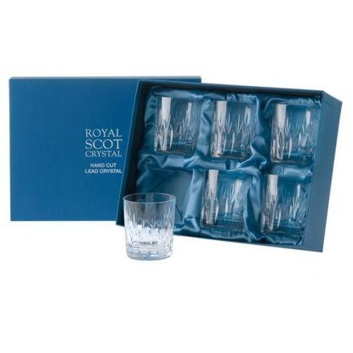 Royal Scot Crystal Szklanki Sapphire do Whisky 330ml 6szt., SAPB6LT