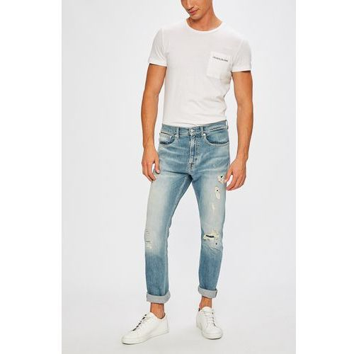 - jeansy athletic marki Calvin klein jeans