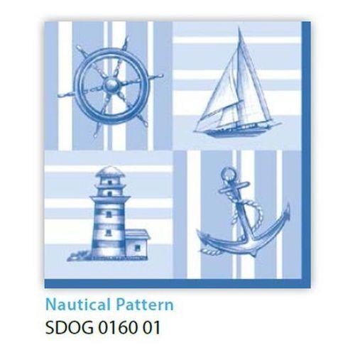 Pol-mak Serwetki 33 x 33 cm sdog 016001 wzór marynarski (5901646022089)