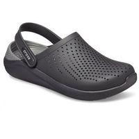 Crocs literide clogs black/slate grey m7/w9 (39,5)