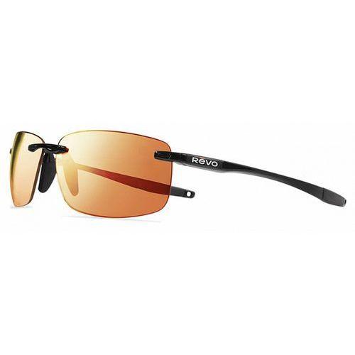 Okulary Słoneczne Revo RE4059 DESCEND N SERILIUM Polarized 01 OG, kolor żółty