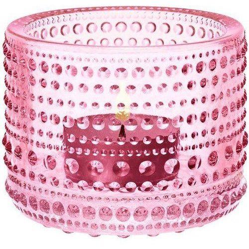 Świecznik kastehelmi pale pink marki Iittala
