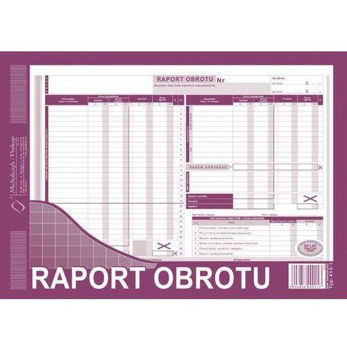 Michalczyk i prokop Raport obrotu, a4, (wielokopia) a4 - g1396