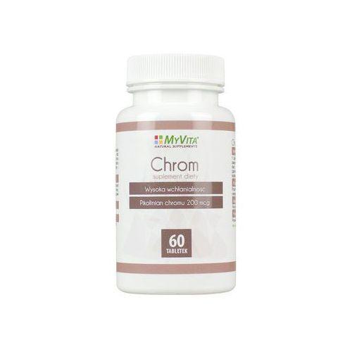 Chrom Pikolinian chromu chrome 200 mcg 60 tabletek MyVita