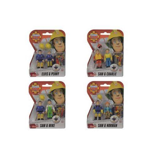 Strażak Sam. 2 figurki, 4 rodzaje