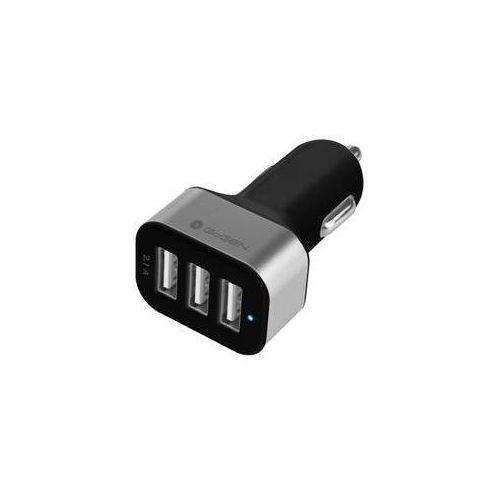 Zasilacz samochodowy GoGEN CH 31, 3x USB (GOGCH31) Czarny