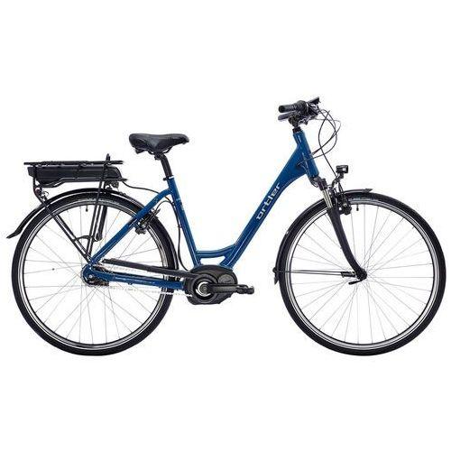 """montreux wave ltd rower elektryczny miejski niebieski 45 cm (28"""") 2018 rowery elektryczne marki Ortler"""