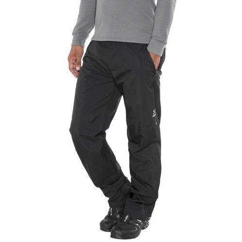 Haglöfs Vandra Spodnie długie Mężczyźni czarny M 2018 Spodnie turystyczne