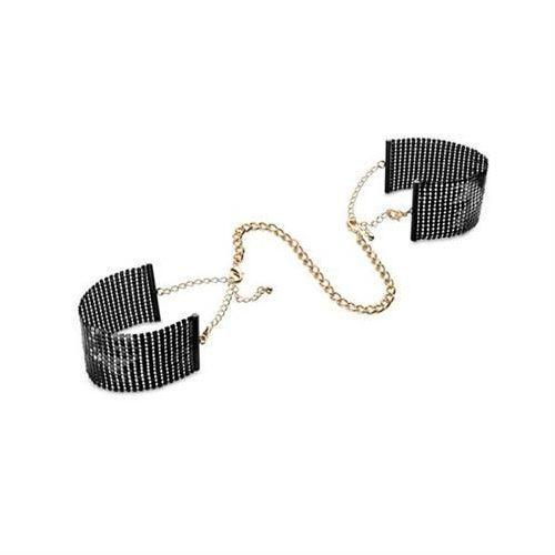 Bijoux Indiscrets - Désir Métallique Handcuffs (czarne), 6_787