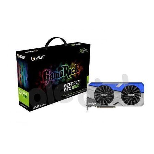 Palit GeForce CUDA GTX1080 GameRock 8GB DDR5 256 BIT DVI-D/HDMI/3DP DARMOWA DOSTAWA DO 400 SALONÓW !! z kategorii Karty graficzne