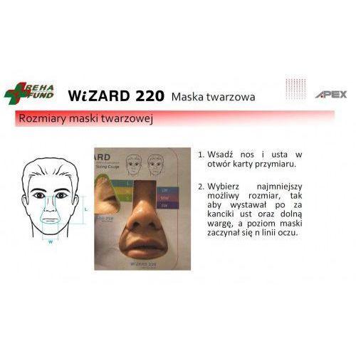 Maska twarzowa Wizard 220 firmy Apex, EFC7-21853_20190918160252