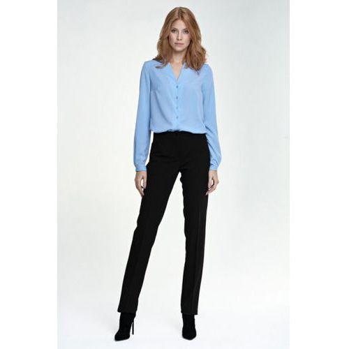 Eleganckie spodnie sd25 czarny marki Nife