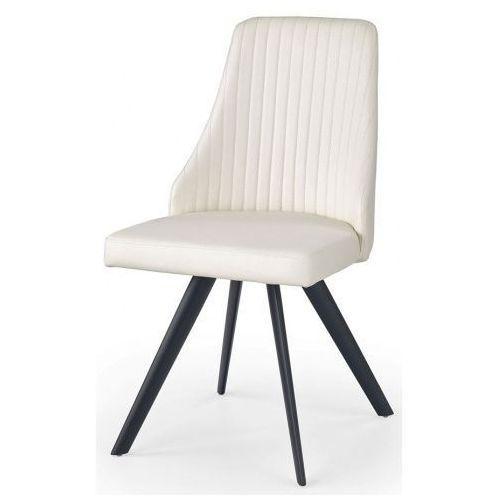 Krzesło w minimalistycznym stylu vimes - białe marki Profeos.eu