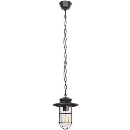 Lampa wisząca Rabalux Pavia 8070 zewnętrzna 1x60W E27 IP44 czarna, 8070