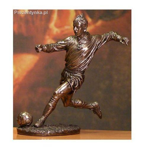 Figurka Piłkarz w biegu na prezent