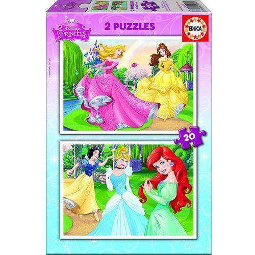 Educa Puzzle 2x20 elementów disney princess (8412668168466)