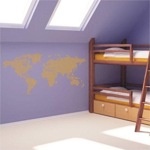 Naklejka mapa świata 04 marki Wally - piękno dekoracji