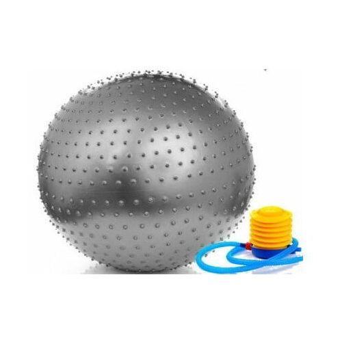 Meteor piłka fitness do masażu 75 cm z pompką (5900724311053)