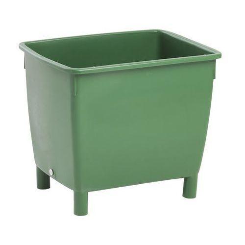 Craemer Pojemnik prostokątny, zbiornik na wodę, pojemność: 210 l, zielony. z listwami wz
