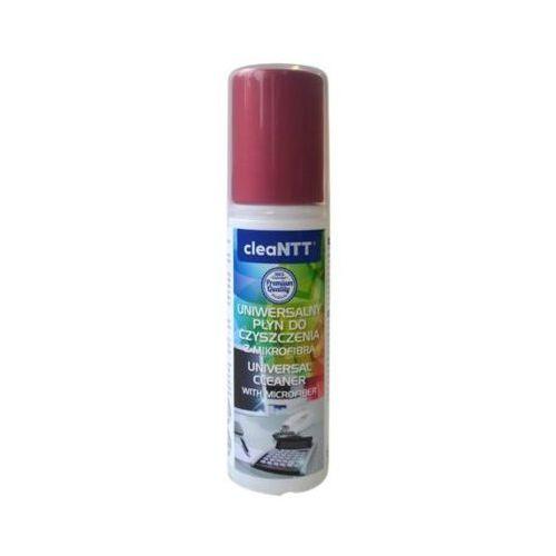 Ntt Uniwersalny płyn do czyszczenia cleantt z mikrofibrą 100 ml (5900626793025)