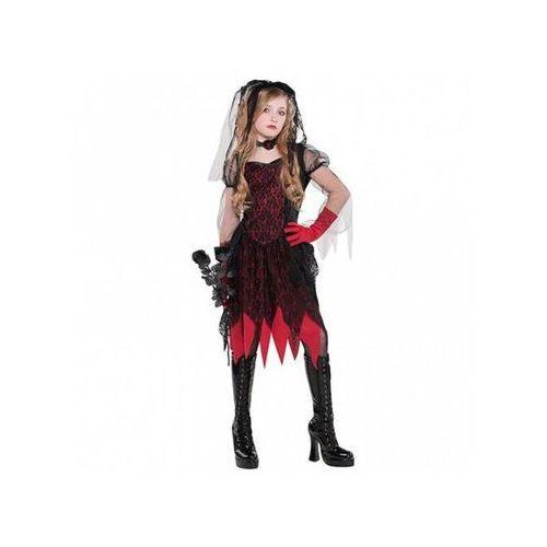 Amscan Kostium panna młoda zombie dla dziewczynki - 8/10 lat (134)