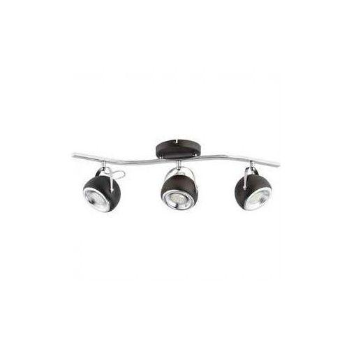 Flavio LED lampa sufitowa (spot) 3-punktowa wenge O2403 P3 RW (5902082864189)