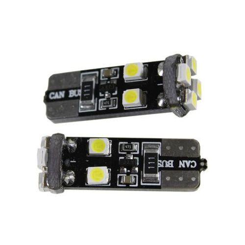 Żarówka samochodowa LED T10, 8 x led, canbus + Bezpłatna natychmiastowa gwarancja wymiany!, 15001