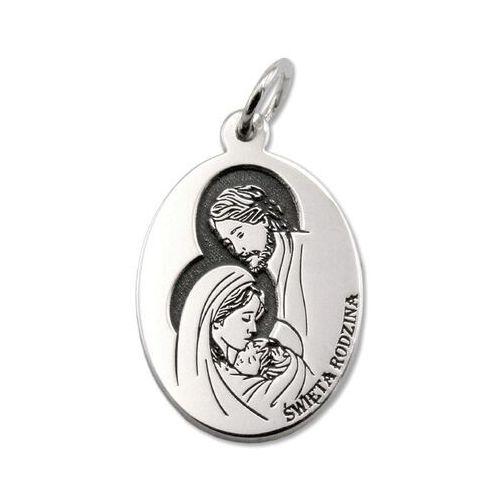Medalik srebrny święta rodzina z nazaretu med-sw-rodz-01 marki Węc - twój jubiler