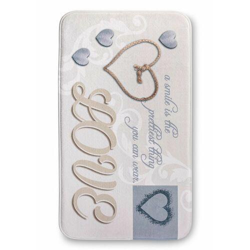 Dywaniki łazienkowe z pianką memory kremowy marki Bonprix