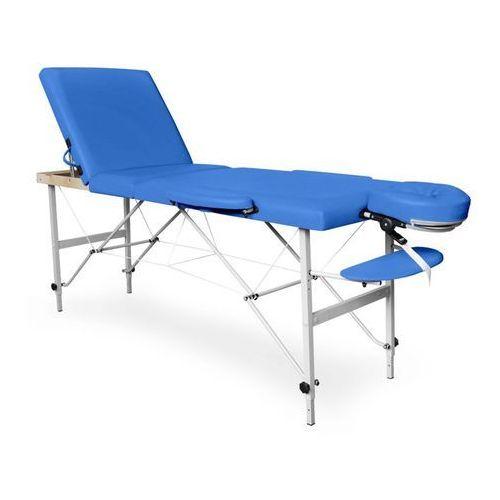 Składane łóżko do masażu, model: kama aluminium marki Juventas