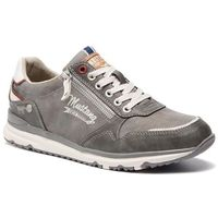 Sneakersy MUSTANG - 44A022 Dunkelgrau, kolor szary