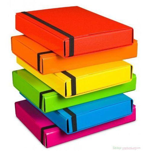Teczka szeroka VAUPE BOX 341 5cm z gumką - j.ziel. (5904287341151)