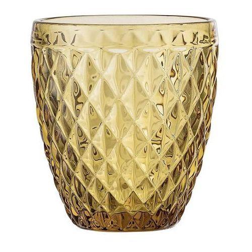 Bloomingville Szklanka kryształowa bursztyn