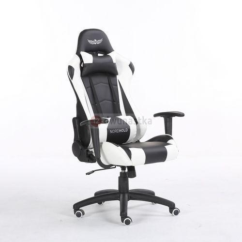 Obrotowy fotel gamingowy NORDHOLD - YMIR - biały, NH-YMR-W