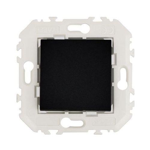 Efapel Włącznik pojedynczy quadro czarny