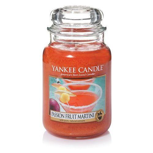 Yankee candle Świeca zapachowa duży słój passion fruit martini 623g