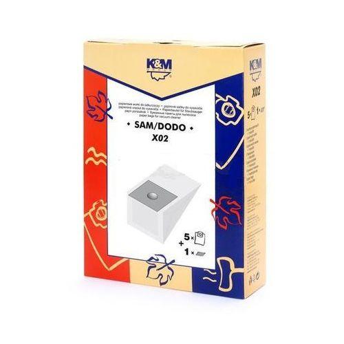 Worki do odkurzacza K&M X02 Uniwersalne