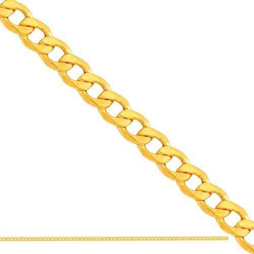 Złoty łańcuszek dmuchany pancerka ld014 od producenta Nie